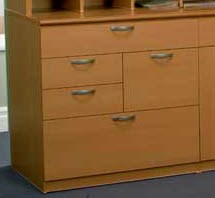 Custom 5-Drawer Combination Cabinet