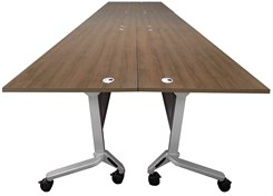 "60"" x 198"" Modular Flip & Stow Conference Table"