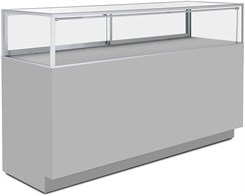 6'W Counter Merchandise Display Case