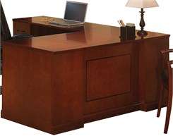 "72""W Executive ""L"" Straight Front Desk w/ Left Return"