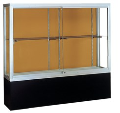 "72"" Wide Pedestal Display Case"