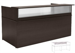 7' Wide Custom Linear Reception Desk