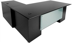 "Prestige Custom 84"" L-Desk, Right Return"