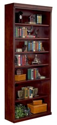 "84"" High Cherry Bookcase"