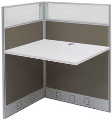 "36""W x 24""D x 48""H Value Series Add-On Carrel"