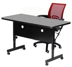 Deluxe Adjustable Height Flip Top Training Tables - Adjustable height training table