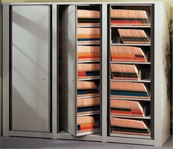 Rotary End Tab File Cabinets