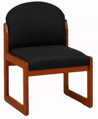 Armless Chair in Upgrade Fabric or Healthcare Vinyl