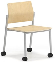 Avon Plywood Stackable Armless Chair