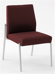 Mystic Armless Guest Chair in Standard Fabric or Vinyl