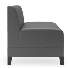 Fremont 500 lbs Armless Loveseat in Upgrade Fabric or Healthcare Vinyl