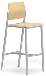 Avon Cafe Seating Series - Plywood Bar Height Cafe Stool