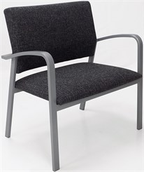 Newport 750 lb Bariatric Guest Chair in Standard Fabric or Vinyl