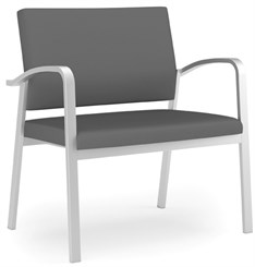 Newport 750 lb Bariatric Guest Chair in Upgrade Fabric or Healthcare Vinyl
