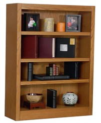 "48""H x 30""W  Oak  Veneer Bookcase"
