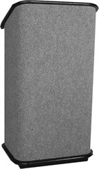 Carpeted Lectern Series: Carpeted Floor Lectern