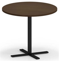 "Avon 36"" Round x 30""H Cafe Table w/T-Mold Edges"