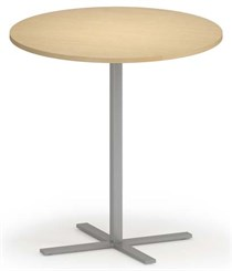 "Avon 42"" Round x 42""H Cafe Table w/T-Mold Edges"