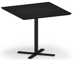 "Avon 36"" Square x 30""H Cafe Table w/Knife Edges"