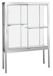 "66""H Challenger Series Locking Display Cases Up to 12' Wide!"