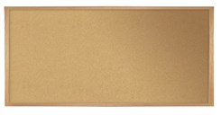 4'H x 8'W Cork Bulletin Board
