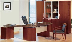 Conference Desk & Wall Unit