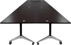"72"" x 216"" Modular Flip Top Conference Table"