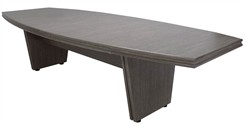 "48"" x 120"" Custom Boat Shaped Conference Table"