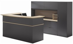 Ovation Custom Reception Desk/Workstation