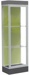 "76""H Edge Custom Display Cases - 2' Wide Floor Case"
