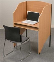 Deluxe Floor Carrel