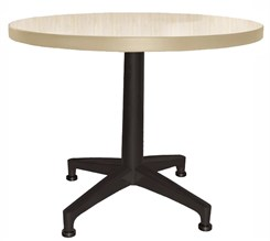 "30"" Round Designer Laminate End Table"
