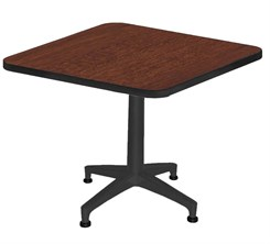 "30"" Square Designer Laminate End Table"