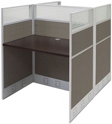 "36""W x 49""D x 48""H Value Series Double Starter Carrel"