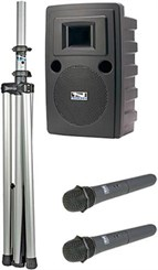 Dual Basic Portable Sound System Package