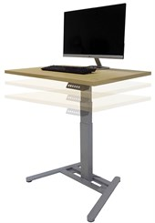 "Small Office Electric Lift Height Adjustable Tables - 36""W x 24""D Table Top"