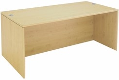 Maple Executive Desk Shell