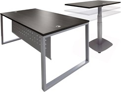 Executive L-Desk w/Electric Lift Desk Return