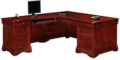 Executive L-Shaped Desk with Left Return