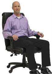 "400 lbs. Capacity Office Conference Chair w/Extra Wide 23-1/2""W Seat"