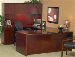 Executive U Suite with Hutch - BBF/FF