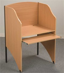 Floor Carrel & Add-A-Carrel