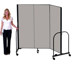 "Freestanding Portable Partitions - 6' High x 5'9"" Long Portable Partition - See Other Sizes"