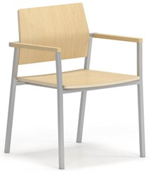 Avon Plywood Stackable Guest Chair