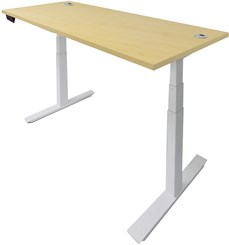 "60""W x 28""D Electric Lift Height Adjustable Table"