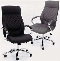 Diamond Tufted High Back Swivel Office/Conference Chair