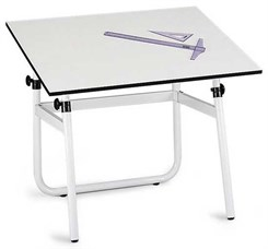 Horizon Adjustable Height Folding Drawing Table
