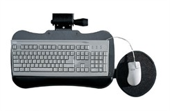 Articulating Keyboard Platform w/Mouse Area