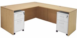 Maple Manager's L-Desk