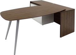 WorkTrend L-Workstation Desk